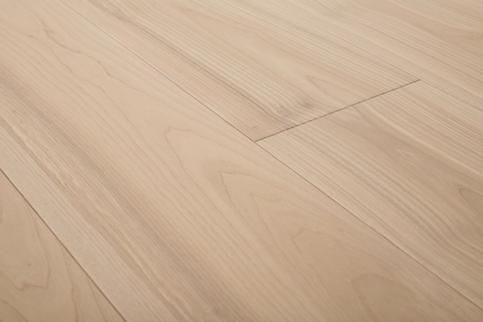 European White Oiled Ash Engineered Wood Flooring