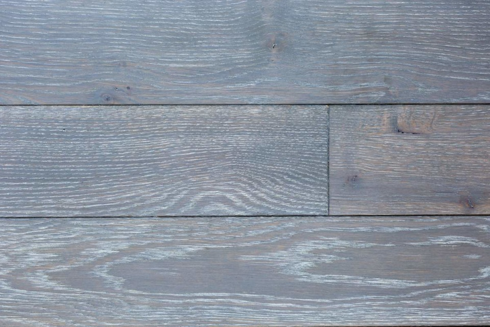Stunning Deep Grey Engineered Oak Wooden Floors Uk