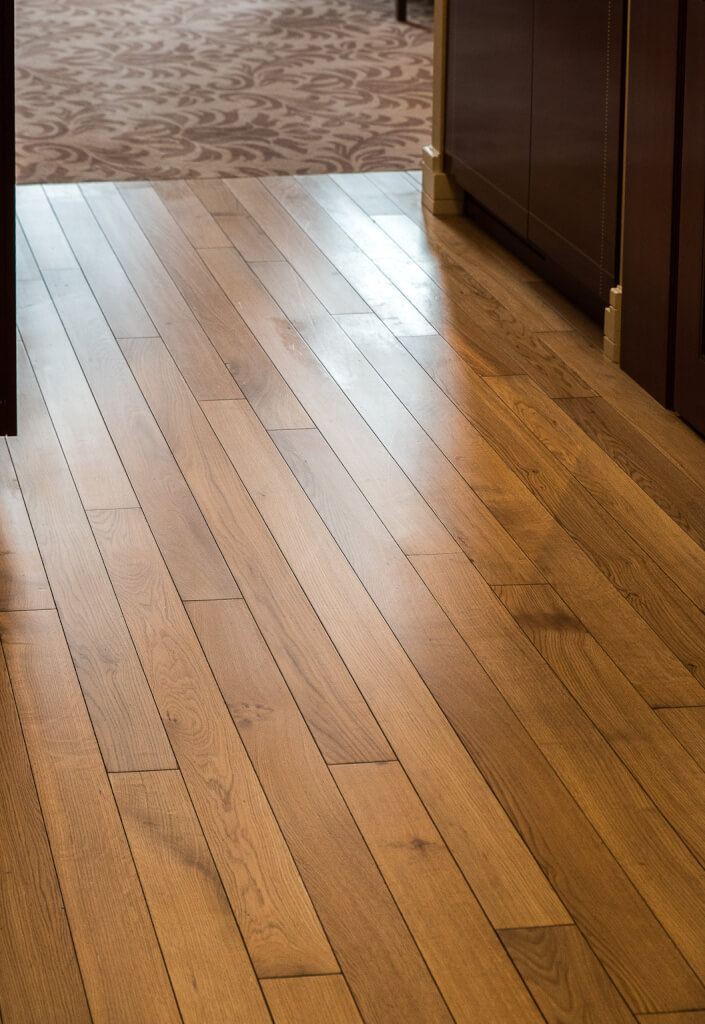 Solid wood floor fitting Scotland