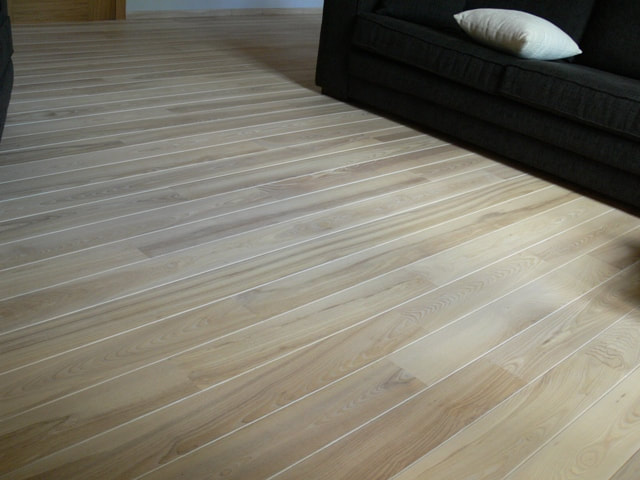 Solid Ash Hardwood Flooring