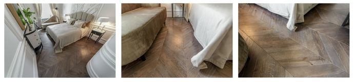 Engineered Wood Flooring Chevron Pattern