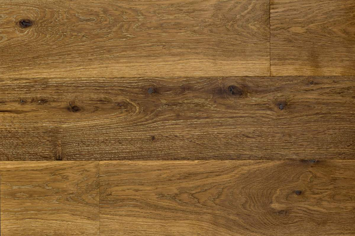 Semi Smoked Engineered Oak Wood Flooring In Edinburgh