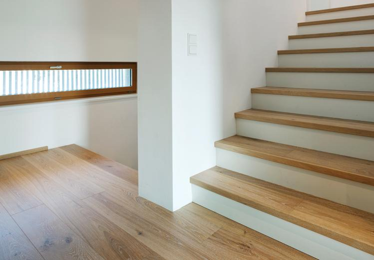 Wood for Stairs and Treads and Risers fitting