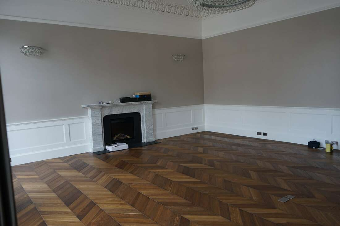 Chevron Wood Floors - Tanga