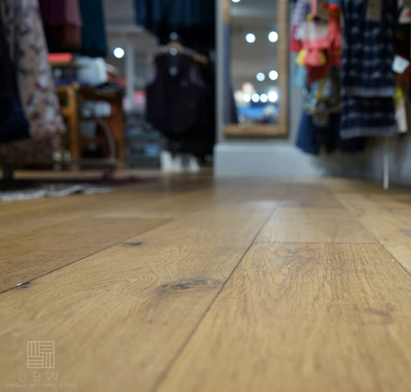 Engineered Oak Flooring - Vanilla White